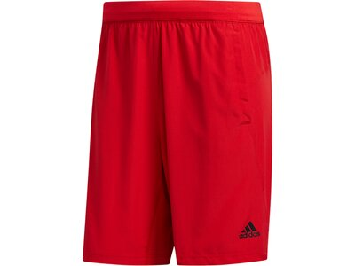 adidas Herren Kraft Shorts Climalite kurze Sporthose Rot