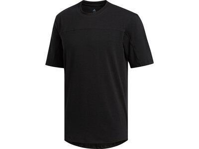 adidas Herren City Base T-Shirt Schwarz