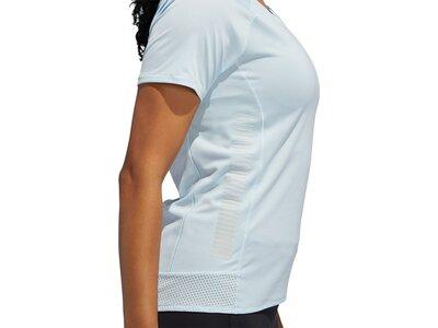 adidas Damen Parley 25/7 Rise Up N Run T-Shirt Weiß