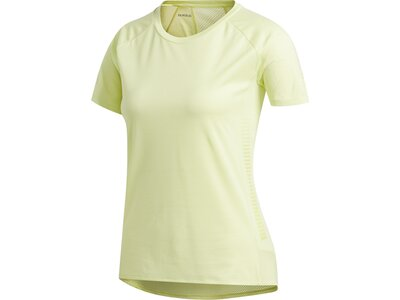 adidas Damen Parley 25/7 Rise Up N Run T-Shirt Braun