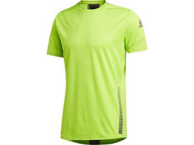 adidas Herren Parley 25/7 Rise Up N Run T-Shirt Grün