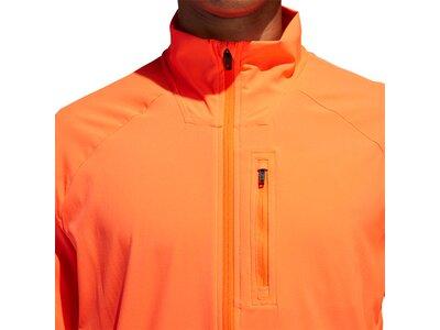 adidas Herren Rise Up N Run Jacke Orange