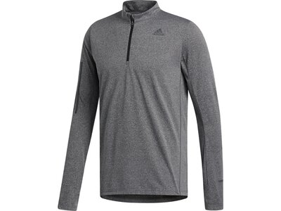 ADIDAS Running - Textil - Sweatshirts Own the Run 1/2 Zip Shirt Running Grau