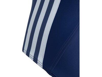 adidas Mädchen Athly V 3-Streifen Badeanzug Blau