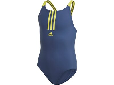 ADIDAS Kinder Badeanzug FIT SWIMSUIT Grau