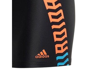 adidas Kinder Fitness Boxer-Badehose Schwarz