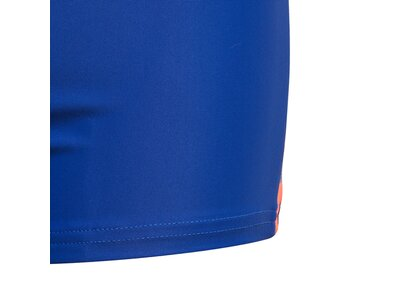 adidas Kinder Tape Boxer-Badehose Blau
