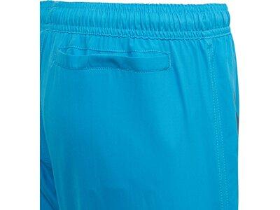 adidas Kinder Bold 3-Streifen Badeshorts Blau