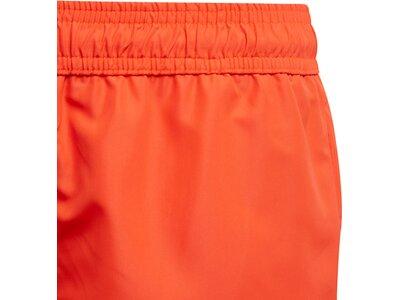 adidas Kinder Classic Badge of Sport Badeshorts Rot