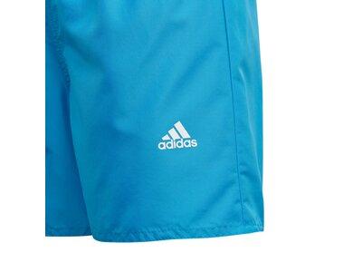 adidas Kinder Classic Badge of Sport Badeshorts Blau