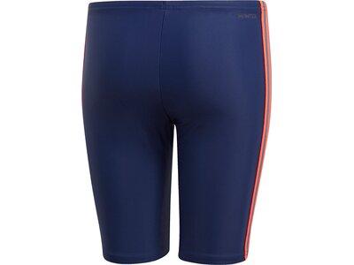 adidas Jungen 3-Streifen Jammer-Badehose Blau