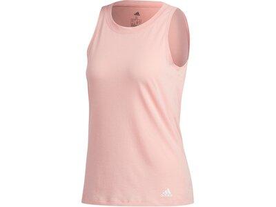 adidas Damen Prime Tank Top Sport ärmelloses T-Shirt Rot