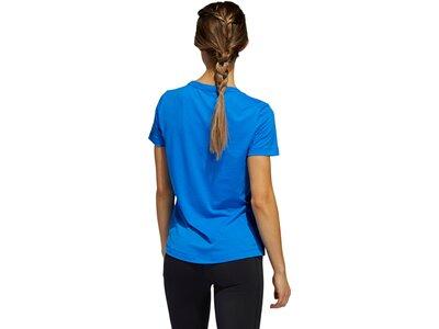 ADIDAS Damen Shirt PRIME Blau