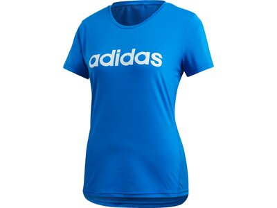 ADIDAS Damen Shirt D2M LO Blau
