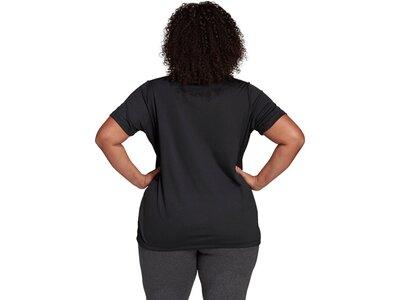 ADIDAS Damen Shirt D2M INC T Schwarz