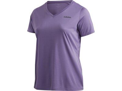 ADIDAS Damen Shirt D2M INC T Grau