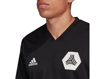 adidas Herren TAN Trainingstrikot Schwarz
