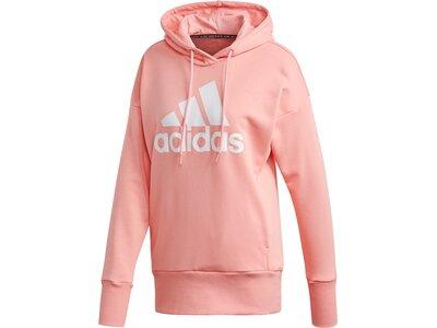 ADIDAS Damen Kapuzensweat W BOS LONG HD Pink