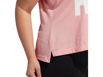 adidas Damen Universe T-Shirt – Große Größen Rot