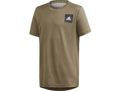 adidas Jungen AEROREADY T-Shirt Braun