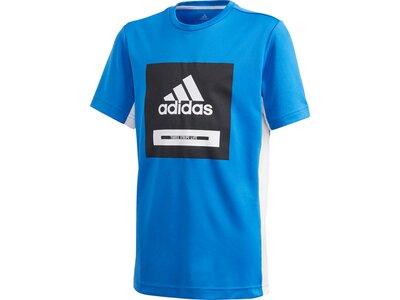 adidas Jungen Bold T-Shirt Blau