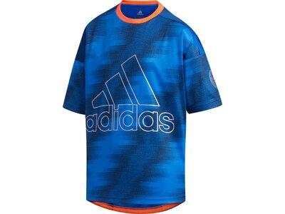 ADIDAS Kinder Shirt B TR TEE TRAIN Blau