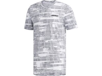 ADIDAS Herren Shirt ESS AOP Grau