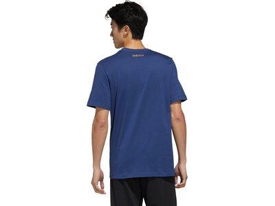 ADIDAS Herren Shirt ESS BR Blau