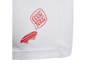 adidas Jungen Collegiate T-Shirt Grau