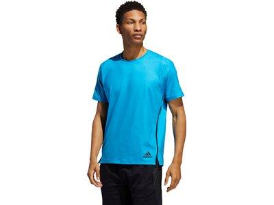 adidas Herren FreeLift Primeblue T-Shirt Blau