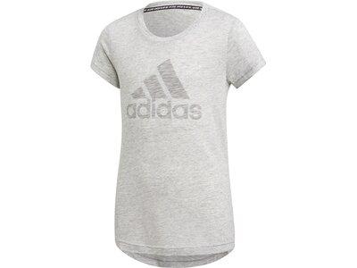 ADIDAS Kinder Shirt JG A MHE Silber