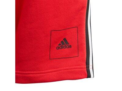 adidas Jungen Shorts Rot