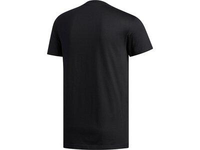 ADIDAS Herren Shirt GAME ON LOCK Schwarz