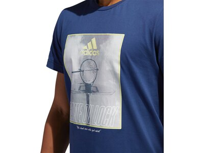 ADIDAS Herren Shirt GAME ON LOCK Blau
