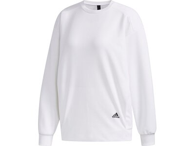 ADIDAS Damen Sweatshirt MHE SWT CRE Pink