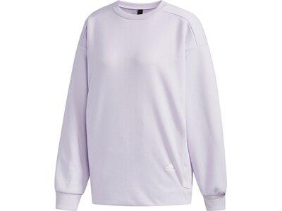 ADIDAS Damen Sweatshirt MHE SWT CRE Silber