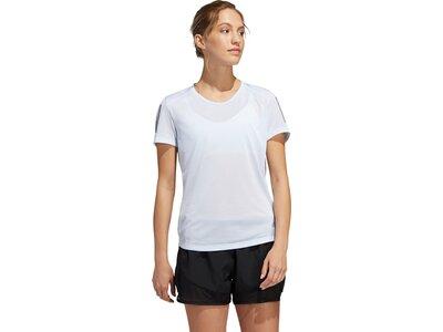 """ADIDAS Damen Laufshirt """"Own the Run"""" Kurzarm Pink"""