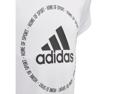 adidas Mädchen Bold T-Shirt Grau