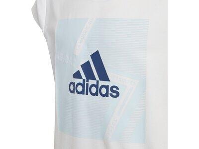 adidas Mädchen Branded T-Shirt Grau