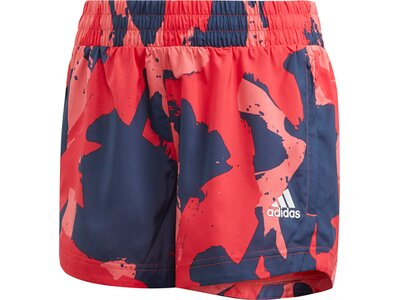 ADIDAS Mädchen Shorts Rot