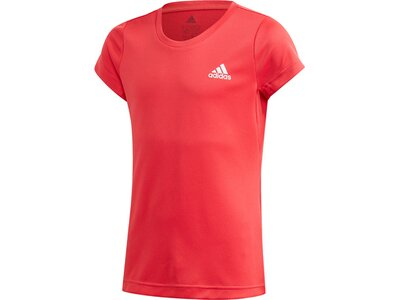 adidas Mädchen AEROREADY T-Shirt Rot