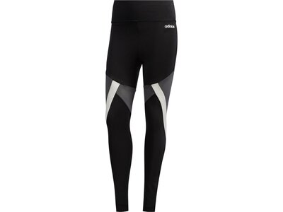 adidas Damen Colorblock 7/8-Tight Schwarz