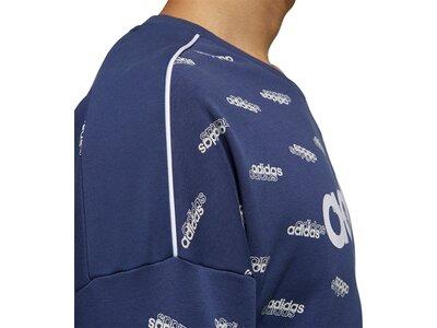 ADIDAS Herren Sweatshirt Favorites Blau