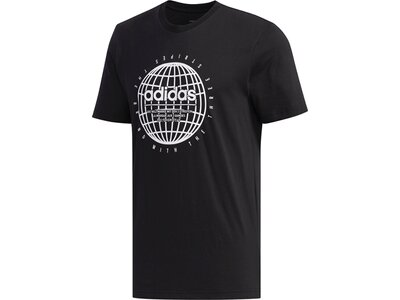ADIDAS Herren Shirt GLB T Schwarz