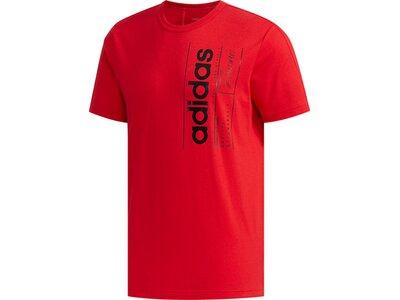 ADIDAS Herren Shirt BB T Rot
