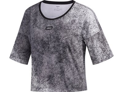 ADIDAS Damen Shirt W WMN CROP T Grau