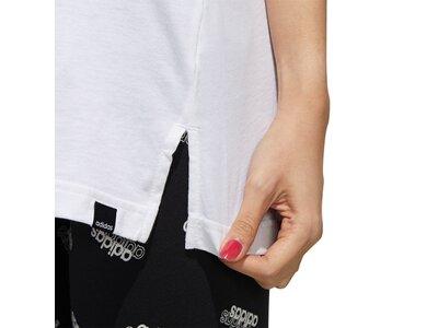ADIDAS Damen Shirt W BOXED CAMO TK Weiß