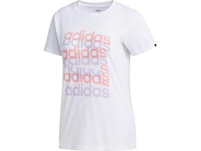ADIDAS Damen Shirt BIG GFX T Pink