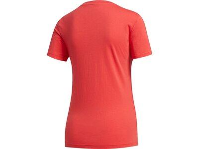 ADIDAS Damen Shirt BOXED CAMO T Rot