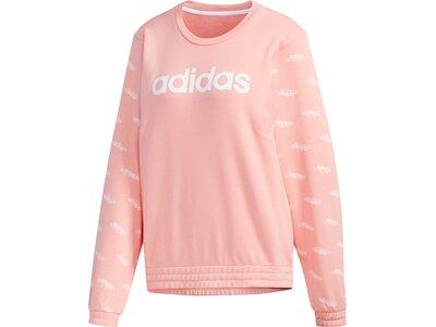 ADIDAS Damen Sweatshirt FAV SW Rot